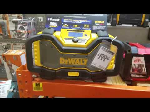 Dewalt DCR025 Jobsite Bluetooth Radio Charger Quick Look and other Radios