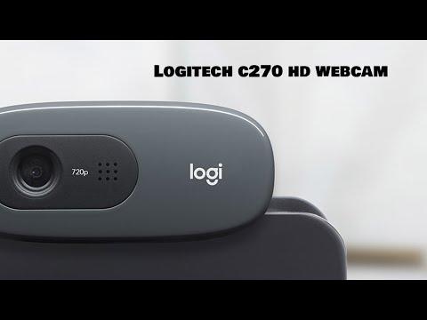 Logitech C270 Webcam Unboxing/Review/ Test