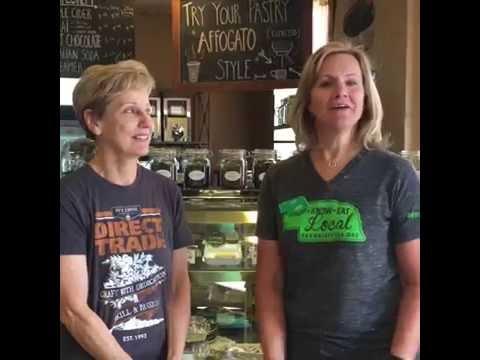 GROW Nebraska visits Prairie Grounds Coffeehouse in Broken Bow, NE