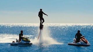 Cilgin Dersane 3 - Jet Skiye Karşı Flyboard