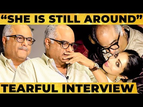 """She is Still Around..""- Boney Kapoor's Emotional Break out, Sridevi's Personal Secrets & More!"