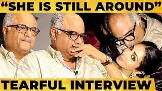 """She is Still Around..""- Boney Kapoor's Emotional Break out, Sridevi's Personal Secrets & More!"