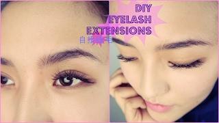 【ch3n1 makeuplover】自接睫毛教程 DIY eyelash extension tutorial