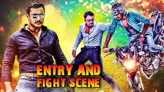 Challenging Star Darshan Entry Scene | Top Entry Scene Of South Superstar | South Action Scene 2019