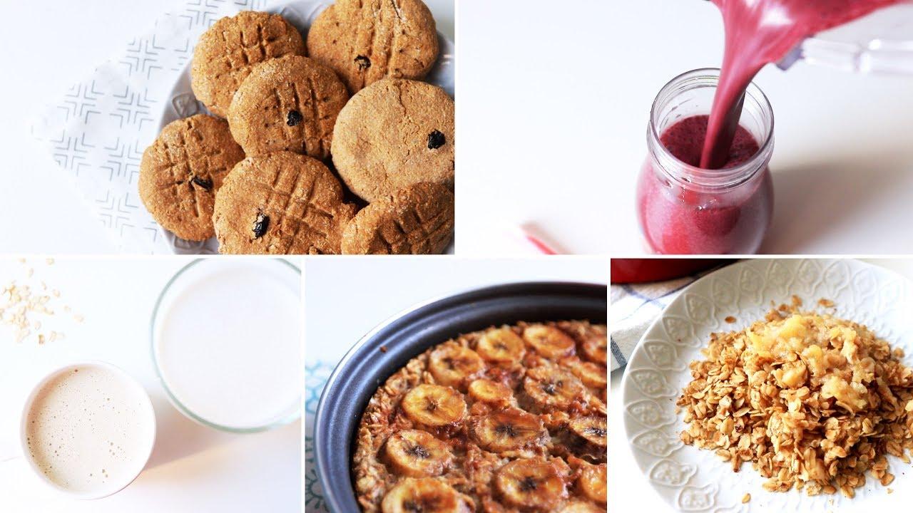 Смузи для Похудения Рецепты с Овсянкой - 5 Рецептов с Овсянкой для Детей!