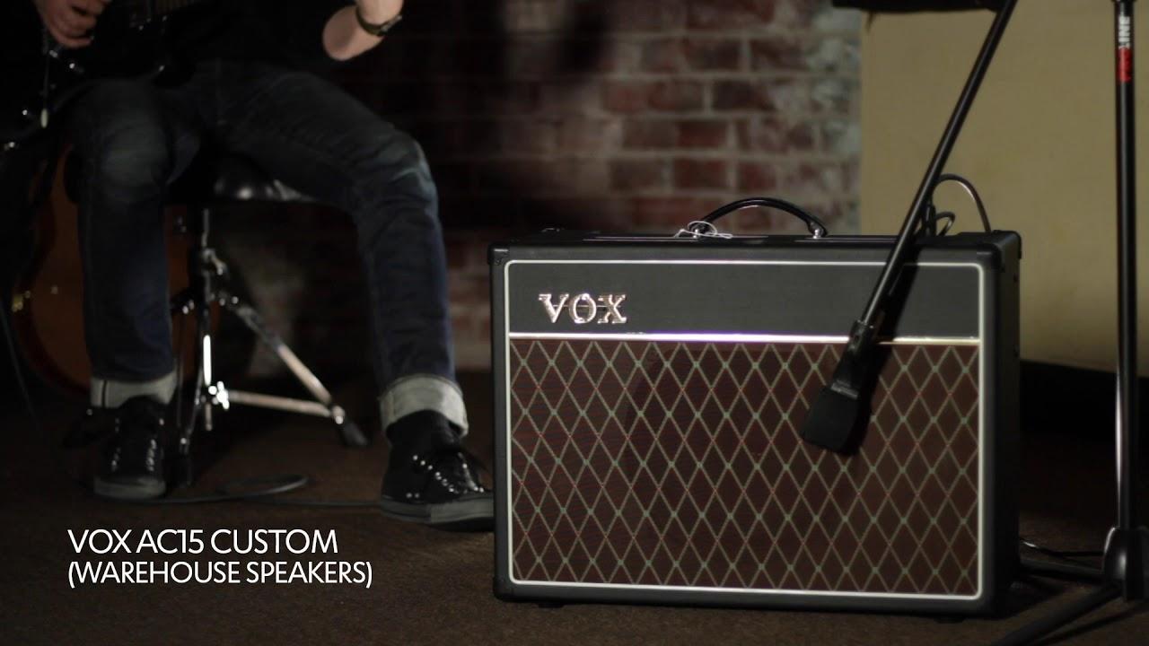 VOX AC15C1 G12C Limited Edition mit WAREHOUSE Speaker