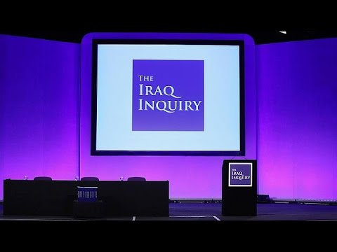 UK's 2003 invasion of Iraq based on 'flawed intelligence', Chilcot inquiry says