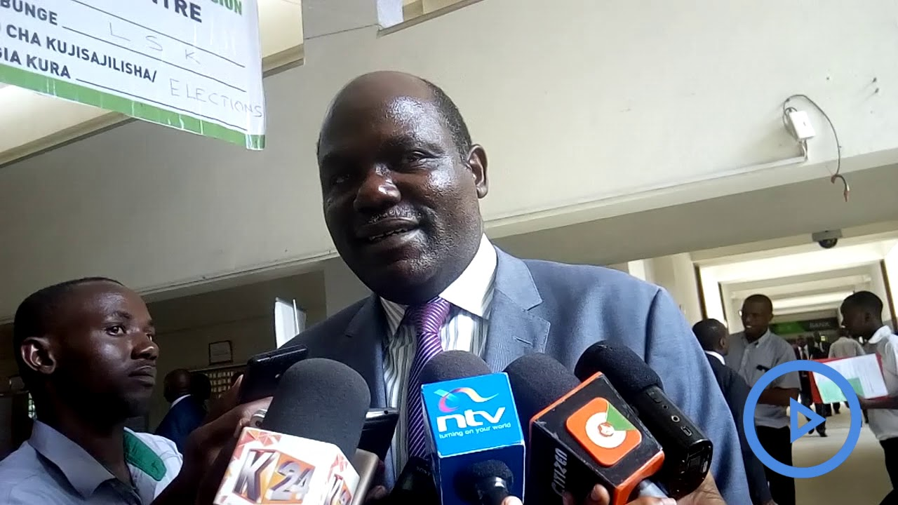 IEBC is ready for repeat polls: Wafula Chebukati