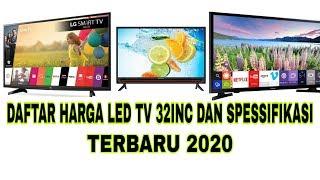 DAFTAR HARGA LED TV 32INC DAN SPESIFIKASINYA TERBARU 2020