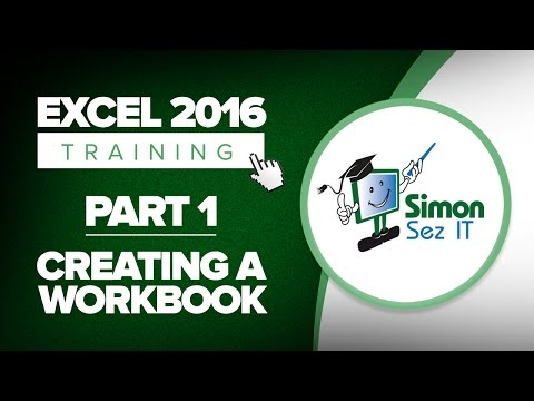 Excel For Beginners Part How To Create Spreadsheet With Excel