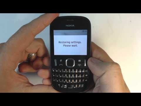 Nokia Asha 200 factory reset