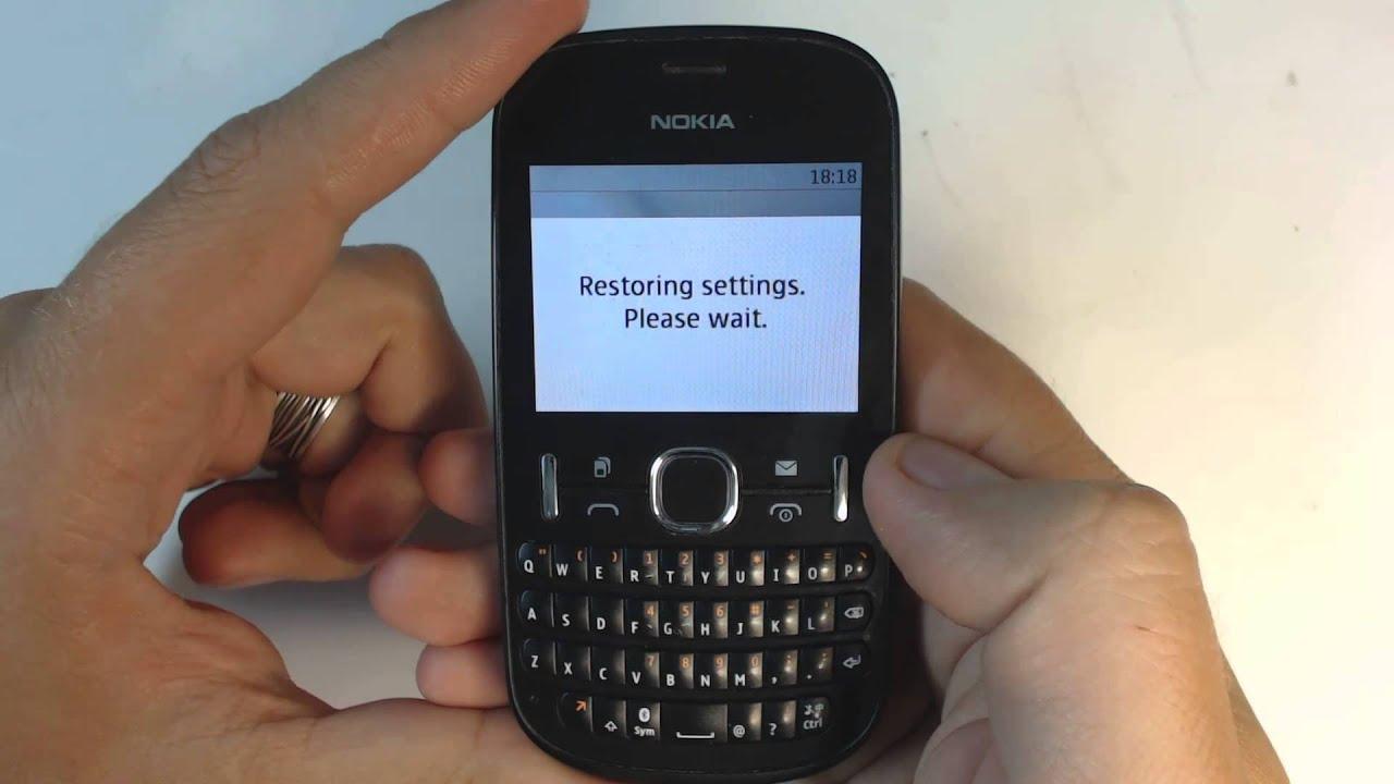 nokia asha 200 factory reset youtube rh youtube com Celular Nokia 5230 Nokia X2