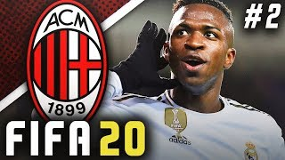 SIGNING VINICIUS JR!! - FIFA 20 AC Milan Career Mode EP2