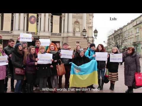 Euromaidan - Ukrainians thank the world for supporting Ukraine