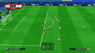 PES | RUSSIA vs EGYPT | FIFA World Cup 2018 | Full Match | Gameplay PC