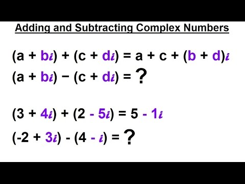 Calculus 2 Complex Numbers & Functions 3 of 28 Adding ...