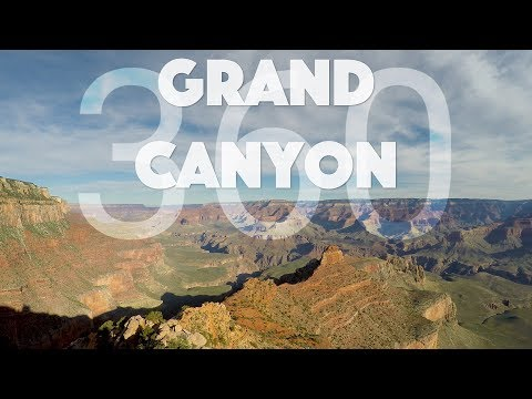 Grand Canyon Hike in 360 VR with Ambient Sounds