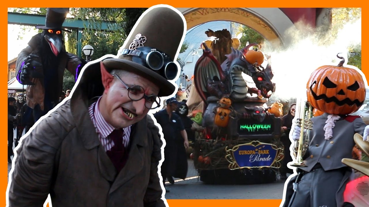 halloween parade 2016 europa park hd youtube. Black Bedroom Furniture Sets. Home Design Ideas