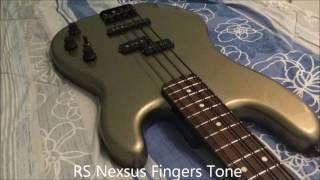D'Addario EXL 165 VS Rotosound Nexus Bass NXB