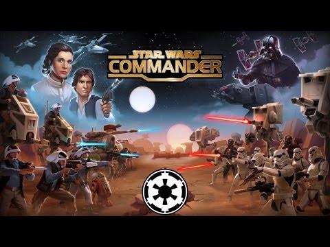 Star Wars Commander - IOS / Android - HD (Sneak Peek - Empire) Gameplay Trailer