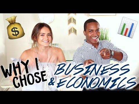 WHY I CHOSE BUSINESS AND ECONOMICS + How To Choose Your Major | Natalie Barbu