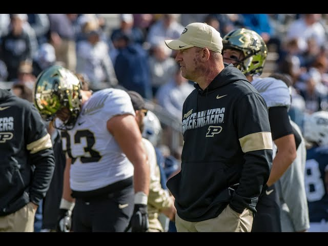 Purdue coach Jeff Brohm releases his Big 10 spring football plan