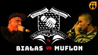 MUFLON vs BIAŁAS @ Microphone Masters 4 @ freestyle battle