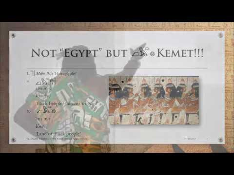 Ọbádélé Kambon, PhD: Why Kemet (Ancient Egypt) Matters