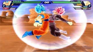Dragon Ball Z Budokai Tenkaichi 3 - Goku SSG Blue and Black Goku Rose Fusion VS  MODS ALEATORIOS #1