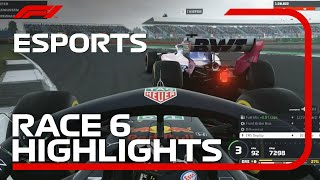 F1 Esports Pro Series 2019: Race Six Highlights