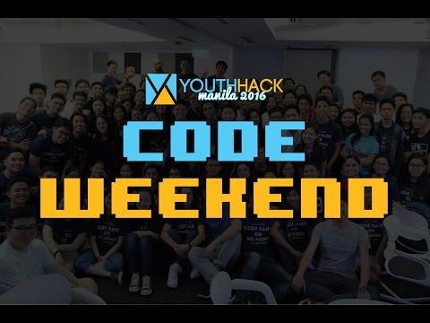 YouthHack Manila Code Weekend 2016