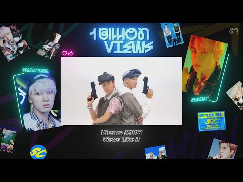 EXO-SC 세훈&찬열 '10억뷰 (1 Billion Views) (Feat. MOON)' Official Lyrics Eng