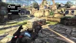 Gears of War 3 Horde 1-50 Mercy Part 1