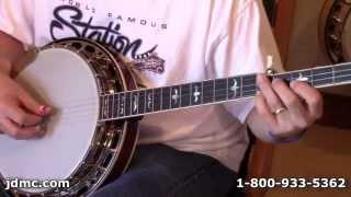 Lick of the Week #7 Earl Scruggs Banjo Backup by JDMC