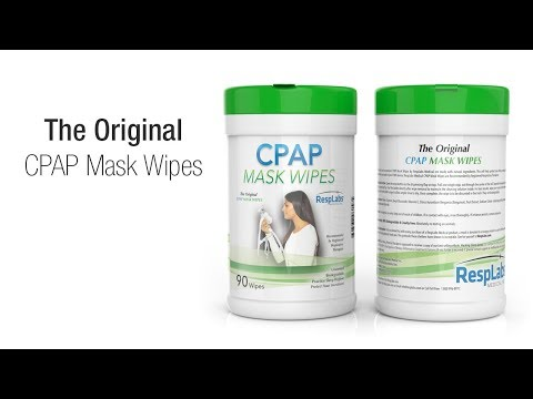 CPAP Wipes   How To Clean Your CPAP Mask? — By RespLabs Medical
