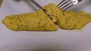 Ricetta Omelette In Francese.Omelette Baveuse Alla Francese Chef Stefano Barbato Youtube