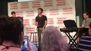 Etai Benson - Papi Hears the Ocean - Broadway Teachers Workshop 2018 - Session C