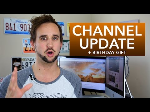 English OR French? Channel Update + Birthday Gift (for you)