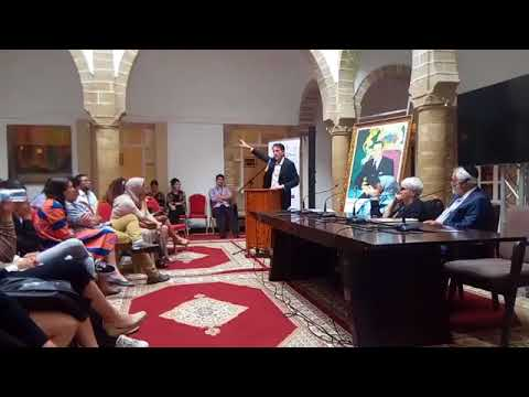 Yossef Ben-Meir speaks in Essaouira on interfaith development in Morocco