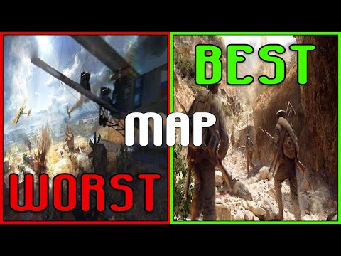 BATTLEFIELD 1: RANKING EVERY MAP FROM WORST TO BEST!