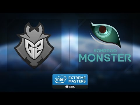 LoL - G2 vs. Kongdoo Monster - Group B Elimination Match Game 3 - IEM Katowice 2017