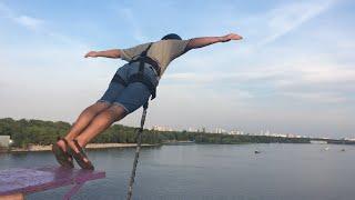 VLOG. Киев. Экстрим День. Гироскутер + Прыжок с моста. 04.09.2016