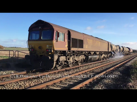 (1080p) ECML Diversions At Martin Road Farm Crossing (25/11/17)