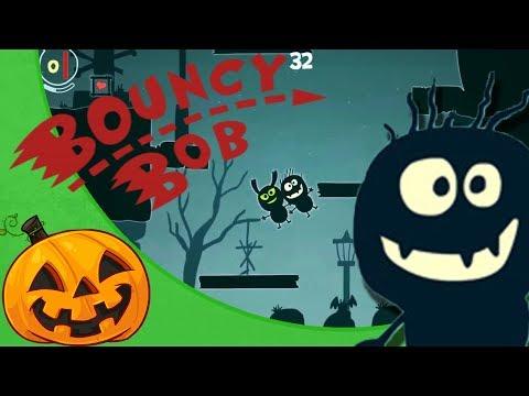 Bouncy Bob - SPOOPY HALLOWEEN GAME! |