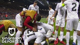 Gran descuido del United y Kimpembe anota el primer tanto del partido