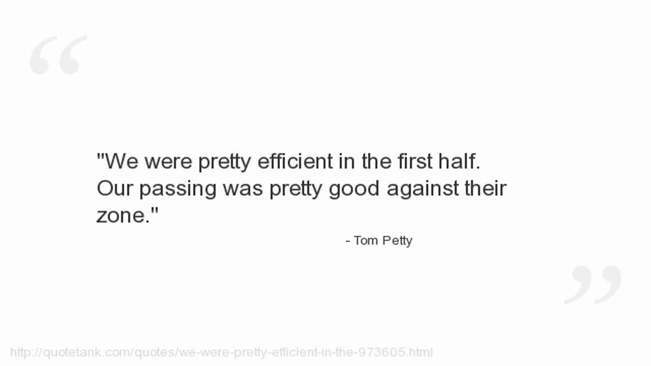 Tom Petty Quotes - YouTube