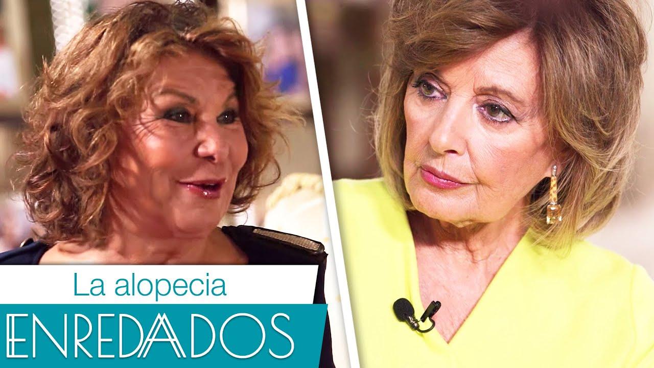 ALOPECIA: CAÍDA del CABELLO con Meli Camacho y María Teresa Campos #EnredadosPorMaríaTeresaCampos