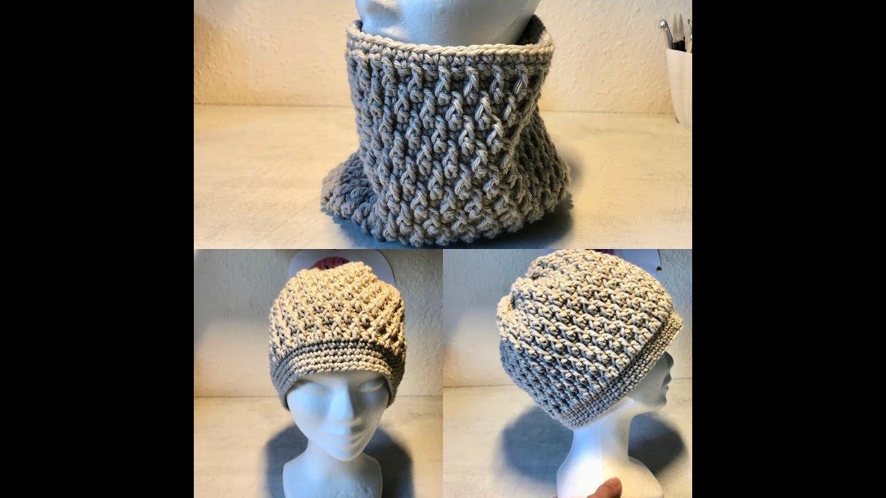 Tuto Bonnet Snood Au Crochet Spécial Gaucher