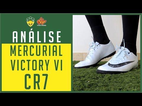 CHUTEIRA NIKE MERCURIAL VICTORY VI CR7 CAP V - NOVA CHUTEIRA DO CRISTIANO RONALDO - ANÁLISE / REVIEW