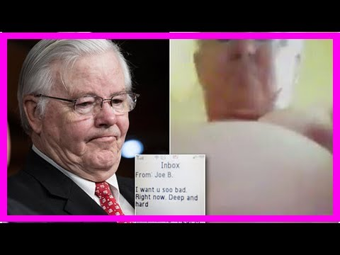Nude Photo Of Texas Congressman Joe Barton Leaked - YouTube